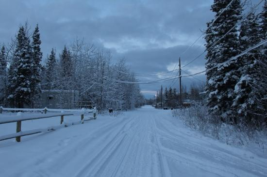 Main Street Beaver Alaska