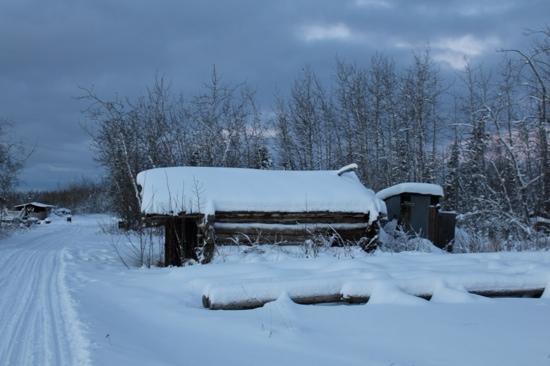 Beaver, Αλάσκα: Cabin opp Yukon River