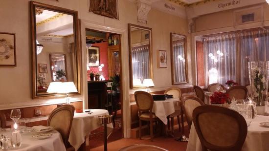 Auberge Napoleon restaurant : La salle