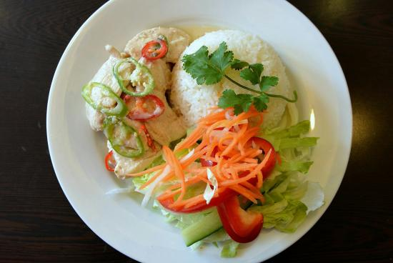 Caphe House: Spicy Coconut Chicken and Jasmine Rice