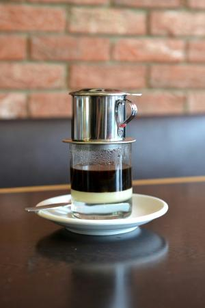 Caphe House: Vietnamese Coffee: Short, sweet and strong. Desert & coffee in a cup