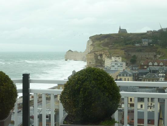 Vue de la chambre picture of hotel dormy house etretat for Hotels etretat
