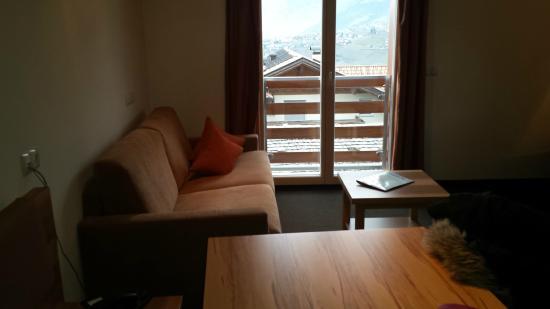 Mittendorf: sala con vista merano