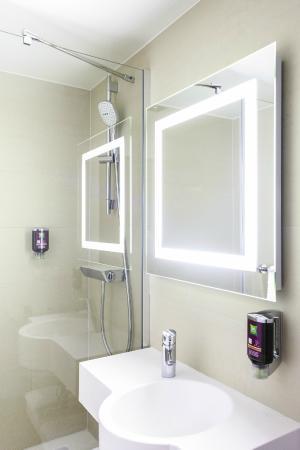 ibis Styles Geneve Gare: Salles de bains
