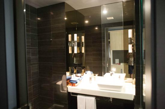 Bathroom Washbasin Area Picture Of Andaz Wall Street New York City Tripadvisor