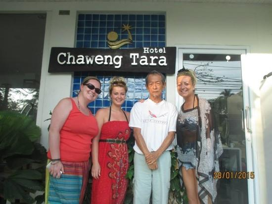 Chaweng Tara Resort: mr miyagi, as we named him <3