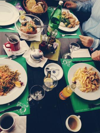 Borik: Lunch / Pasta, Squids, Meat