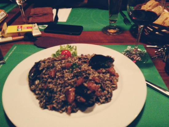 Borik: Dinner / Black Rissoto