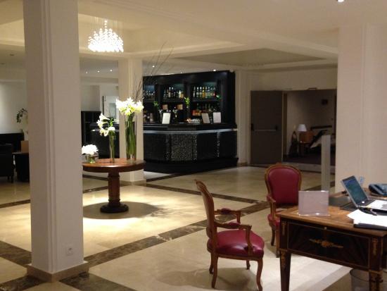 Orbelys Hôtel : RECEPTION LOBBY