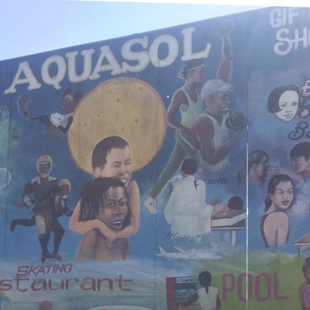 Aquasol Beach Park : Entrance