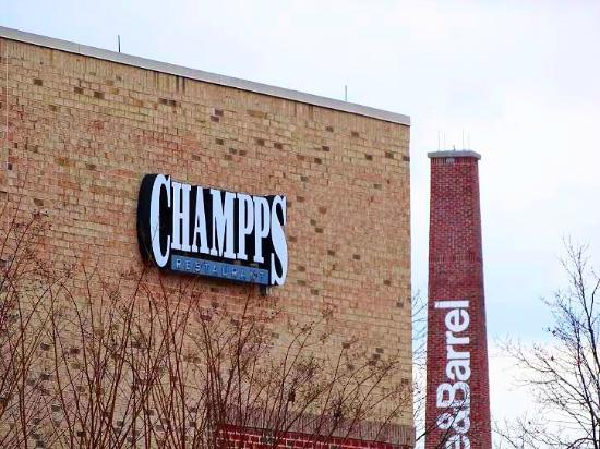 Champps Restaurant and Bar: outside