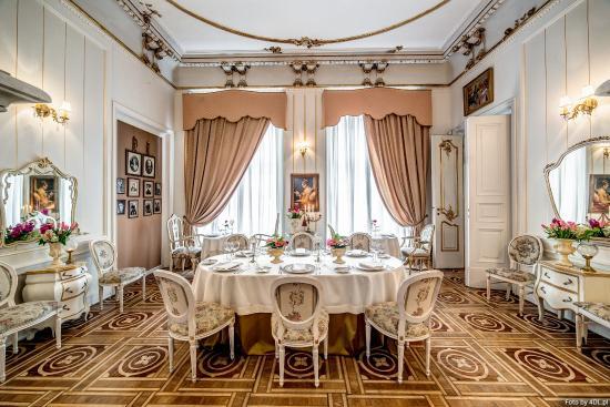 Pod Gigantami Exclusive Restaurant : Gold VIP Room - salonik złoty