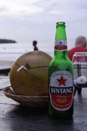 Pandan Sari Cafe : Bintang beer