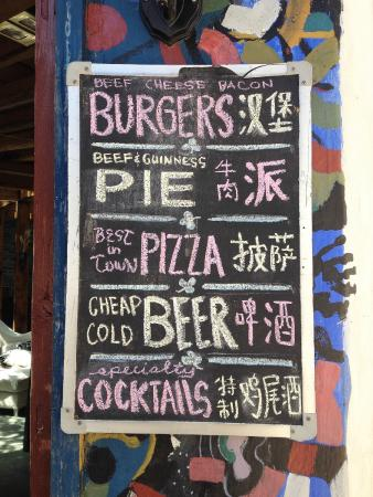 Stone the Crows: Good food. Cold beer. No KTV.