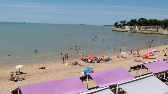 Grand plage fouras les bains rochefort ocean photo de office de tourisme rochefort ocean - Office de tourisme rochefort ocean ...