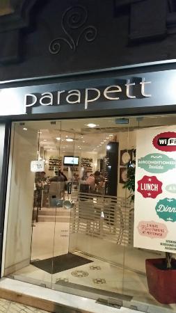 PARAPETT: お店の入口