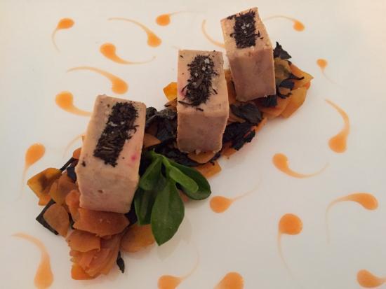 Le Grand Vefour: Foie gras en couleur