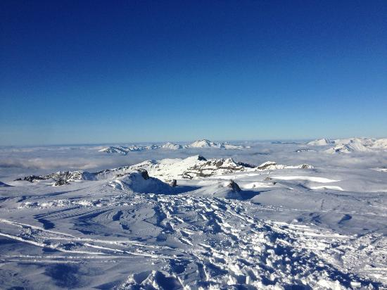 Maison La Cerisaie : View from the top of the slopes!
