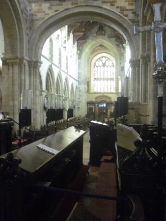 Wimborne Minster: Wnętrze kościoła