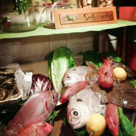 Sistorante : Pesce fresco!