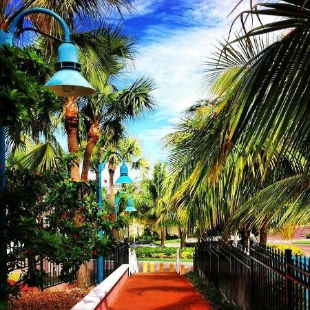 Comfort Suites Paradise Island: Casino Walkway to Atlantis