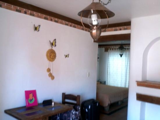 Hotel Real Guanajuato: Lugar para comer, leer y sentarse a organizar los paseos