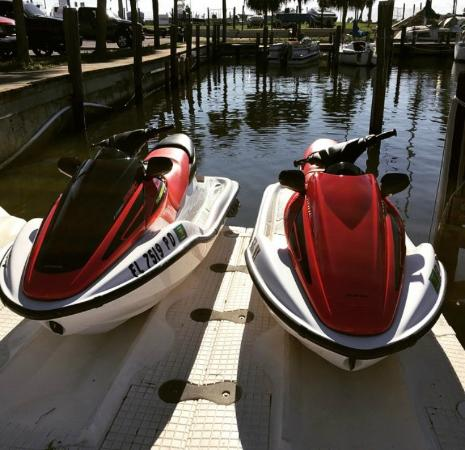Hayley's Jet Ski and Boat Rental: our skis for the day