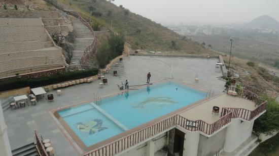 Pool Picture Of Bhairav Garh Palace Udaipur Tripadvisor