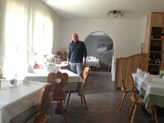 Pension Edelweiss: During the breakfast