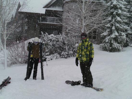 Aspens on Blackcomb: ski in ski out