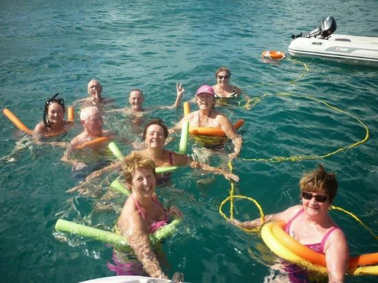 Simpson Bay (ทะเลสาบซิมป์สัน เบย์), เซนต์มาร์ติน / ซินท์มาร์เทิน: Noodles of fun!!