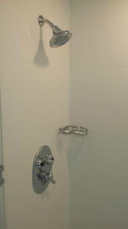 SpringHill Suites by Marriott Atlanta Airport Gateway: Shower, Room 403