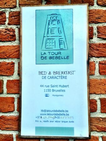 La Tour de Bebelle B&B: Hotel outside
