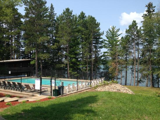 Timberlane Resort: Newly renovated pool in 2014