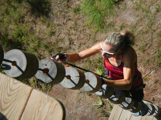 Bradenton, FL: Entering Summit....it's a tough climb but well worth it!