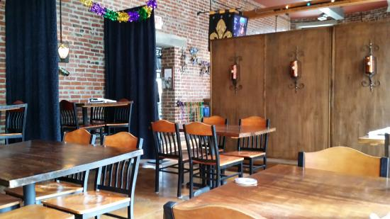 Blue Orleans Creole Restaurant-Downtown: Sitting area