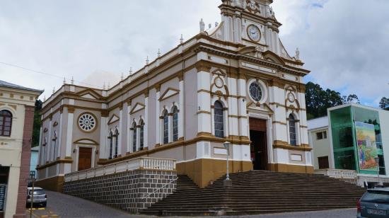 Antonio Prado, RS: Vista da Igreja Sagrado Coração de Jesus