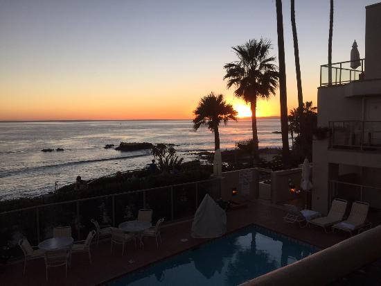 The Inn At Laguna Beach : View from the room