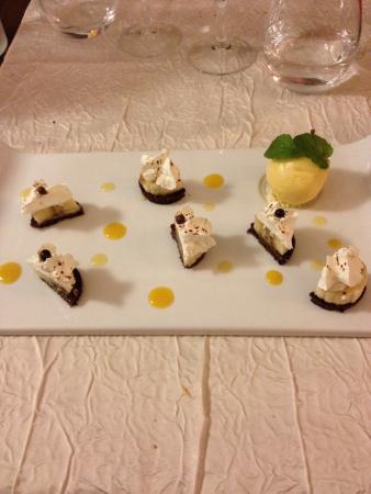 L'oliven : Sablé à la cannelle et gingembre banane (dessert)
