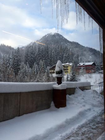 Hotel Lux Alpinae: View from breakfast