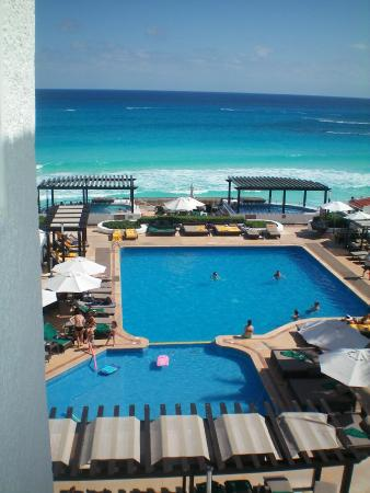 view from our room picture of gr caribe by solaris. Black Bedroom Furniture Sets. Home Design Ideas