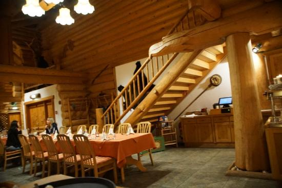 Erlebnishotel Sonnenhof: Salle à manger L'Alaska