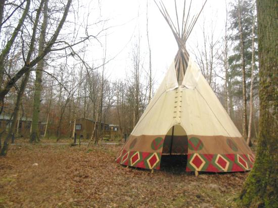 un tipi foto van disney 39 s davy crockett ranch bailly romainvilliers tripadvisor. Black Bedroom Furniture Sets. Home Design Ideas