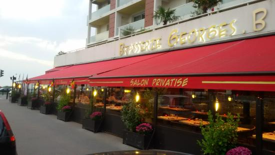 Brasserie georges b le havre restaurant reviews phone for Le jardin le havre restaurant