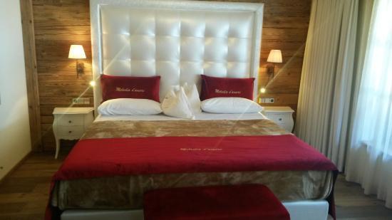 Hotel Quelle Nature Spa Resort: Camera Melodia d'Amore