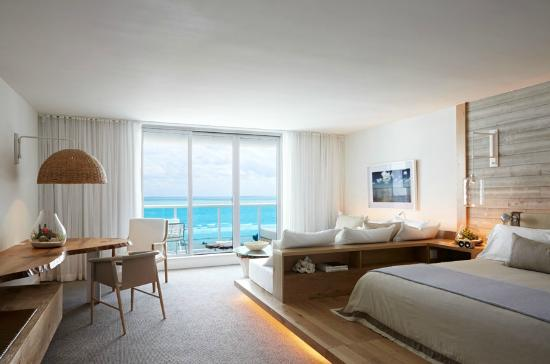 1 Hotel South Beach  Ocean Front One Bedroom Suite with Balcony. Ocean Front One Bedroom Suite with Balcony   Picture of 1 Hotel