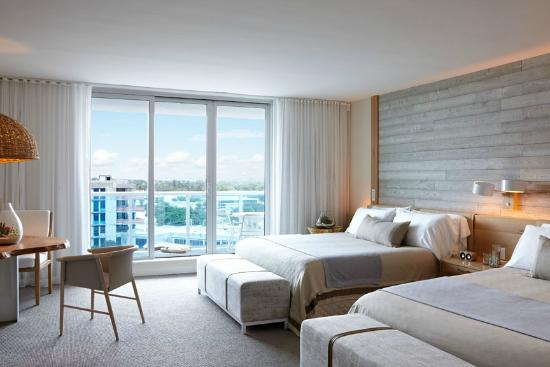 Pool View Two Beds Picture Of 1 Hotel South Beach Miami