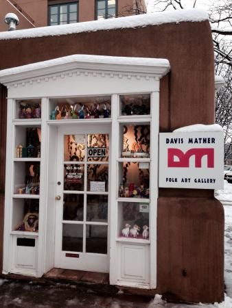 Davis Mather Folk Art Gallery: The SWEETEST little folk art stop I downtown Santa Fe. Tiny place=big fun.