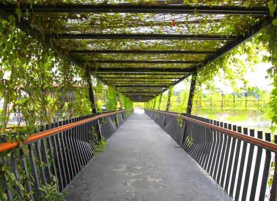 The Breeze BSD City long bridge