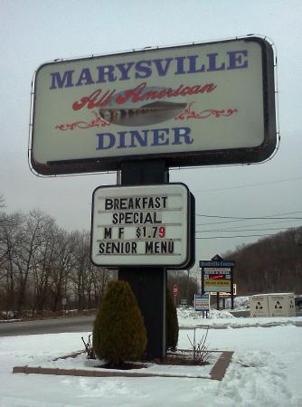 Marysville Diner: Senior Special